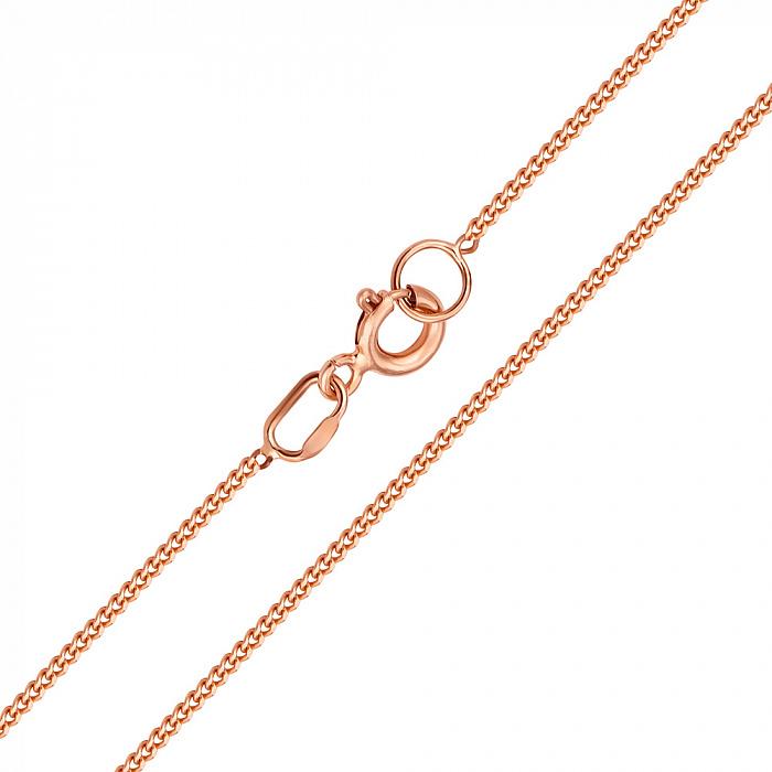 Золотая цепочка Даллас в классическом панцирном плетении, 1мм 000094192