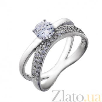Серебряное кольцо с фианитами Индиана AUR--81502бau