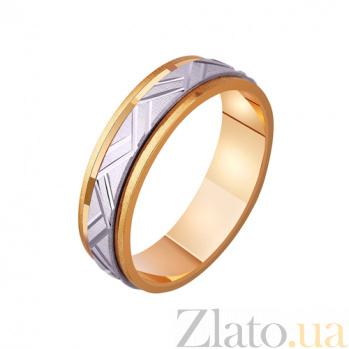 Золотое обручальное кольцо Карнавал TRF--4411127
