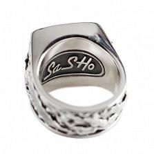 Серебряный перстень Кракен