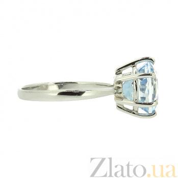 Золотое кольцо в белом цвете с топазом  Шахмира ZMX--RT-5531w_K