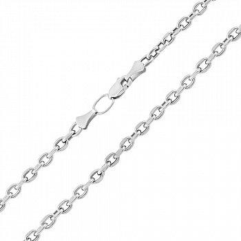 Серебряная цепь в якорном плетении 000123572
