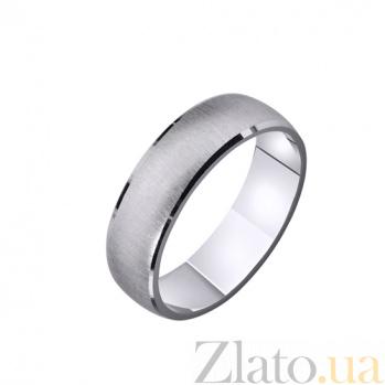 Золотое обручальное кольцо Нежность и любовь TRF--4211095