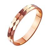 Золотое обручальное кольцо Судьба