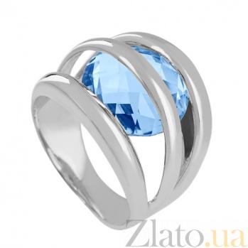 Кольцо из белого золота с топазом Сюрприз VLN--112-256-1*