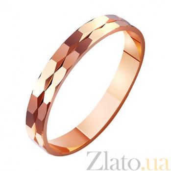 Золотое обручальное кольцо Судьба TRF--411033