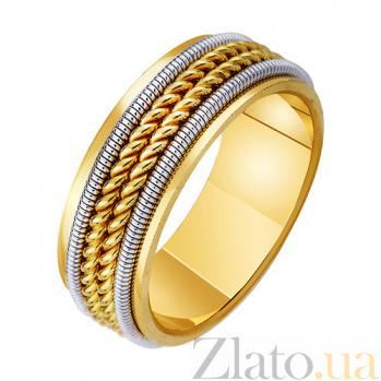 Золотое обручальное кольцо История двух сердец TRF--4711712