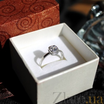 Серебряное кольцо Bezel Bezel