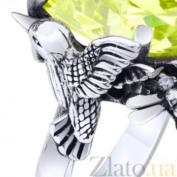 Серебряное кольцо Вкус лета AUR--71809п