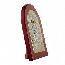 Икона Святой Георгий Победоносец на деревянной основе, 15,5х19см