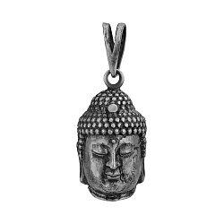 Серебряная подвеска Buddha с чернением 000103159