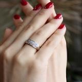 Золотое кольцо с бриллиантами Джессика