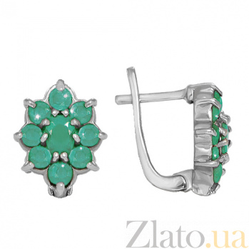 Серьги из серебра Каприз Шахерезады 10030068