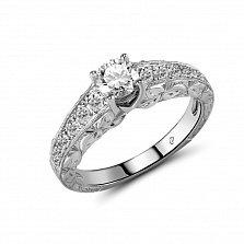 Кольцо из белого золота Каталина с бриллиантами