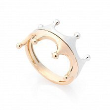 Кольцо из комбинированного золота Ваше Высочество