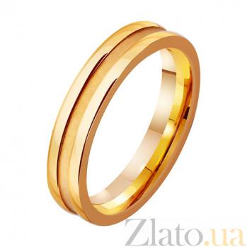 Золотое обручальное кольцо Wedding TRF--411779