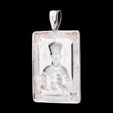 Серебряная ладанка Святой Николай