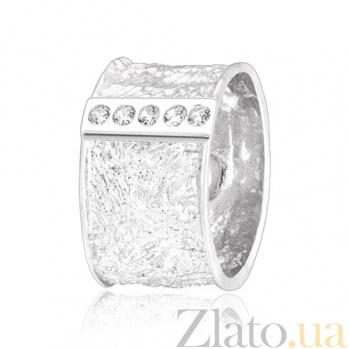 Серебряное кольцо с цирконием Орсола 000028107