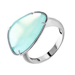 Серебряное кольцо с халцедоном 000019261