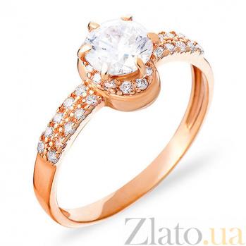 Кольцо из красного золота Медея SUF--140373