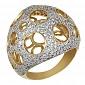 Кольцо из желтого золота Эрида VLT--ТТ164-1