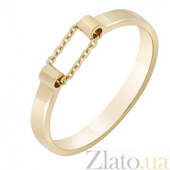 Кольцо из желтого золота Ускорение 000032648