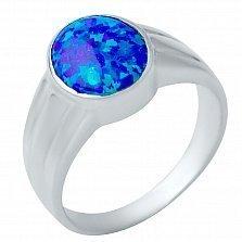 Серебряное кольцо Божена с опалом