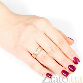 Золотое обручальное кольцо Амур 000001646