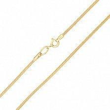 Золотая цепочка Итигея в евро цвете