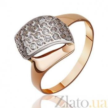Золотое кольцо Тайная страсть с бриллиантами EDM--КД076ссп