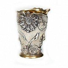 Серебряная стопка Ромашки
