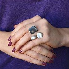 Серебряное кольцо Абстрактный мир