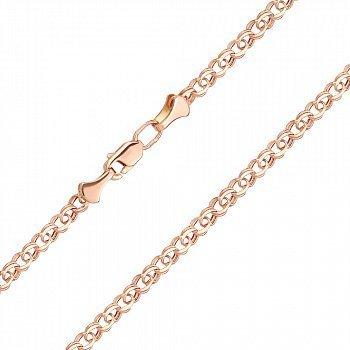 Браслет из красного золота, 3 мм 000146257
