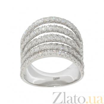 Золотое кольцо с бриллиантами Анель 1К441-0250