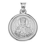 Серебряная ладанка Святой Николай Чудотворец