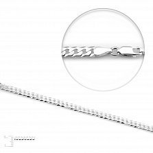 Серебряная цепь Каталония, 3,5 мм