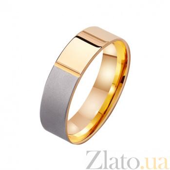 Золотое обручальное кольцо Ты мой мир TRF--411252