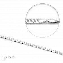 Серебряная цепь Майорка, 4 мм