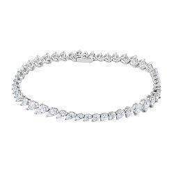 Браслет из белого золота с бриллиантами 000136886