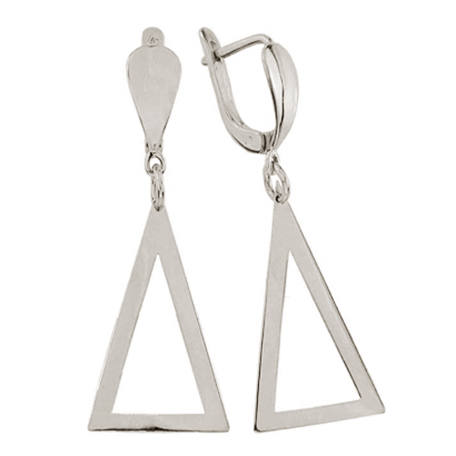Серьги серебряные Лорана TNG--400014С