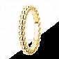 Кольцо в желтом золоте Perlée малая модель R-VCA-Perlée-E-little
