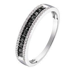 Кольцо в белом золоте Вероника с бриллиантами