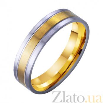 Золотое обручальное кольцо Райская любовь TRF--4511750