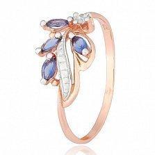 Серебряное кольцо с цирконием Кармел