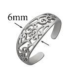 Серебряное кольцо на фалангу пальца Сауле