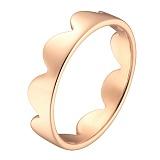 Кольцо Облака в красном золоте