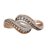 Кольцо из золота с бриллиантами Вия