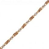 Золотая цепочка комбинированного цвета Джиллиан