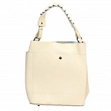 Сумка На Каждый День Italian Bags 8965_beige Кожаная Бежевый