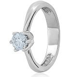 Золотое кольцо с кристаллом Swarovski Моя леди